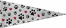 Drapeaux de bannière colorée Og Paw Cat Paw