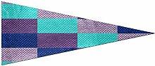 Drapeaux de jardin en plein air Texture de tissu