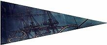 Drapeaux décoratifs extérieurs Un bateau pirate