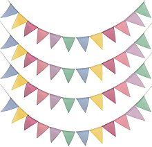 Drapeaux triangulaires multicolores ERUYN YOking,
