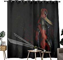 Drapes Swordsman Deadpool Lady Art Rideaux
