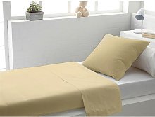 Draps plat Beige 180x290 C Design Home Textile