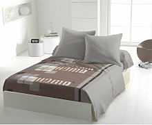 Draps plat Beige 240x300 61864 - C Design Home