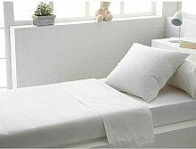 Draps plat Blanc 180x290 810151 - C Design Home