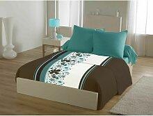 Draps plat Bleu 240x220 C Design Home Textile 60713