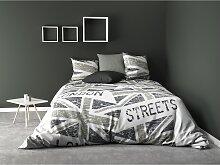 Draps plat Gris 240x300 60297 - C Design Home