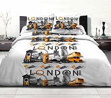 Draps plat Orange 240x300 60157 - C Design Home