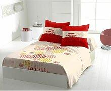 Draps plat Orange 240x300 61825 - C Design Home