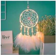 Dream Catcher en Plumes LED Guirlande Lumineuse
