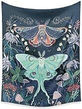 DSENG tapisserieAbeille Papillon Fleur Plante