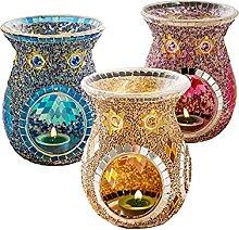 DSFEOIGY Four De Bougies Aromathérapie Lampe