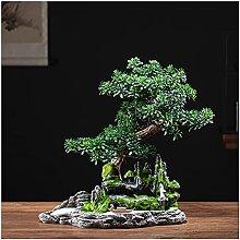 dtkmkj Simulation Arbre Artificiel bonsaï Faux
