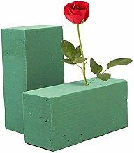 DUDNJC Lot de 10 blocs de mousse florale séchée