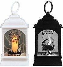 duhe189014 Lanterne De Ramadan LED Suspendu Eid