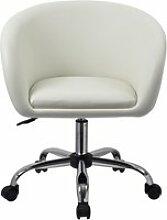 Duhome chaise de bureau confortable en similicuir