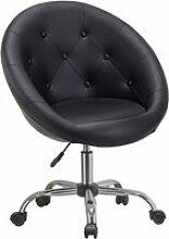 Duhome chaise de bureau élégante en similicuir