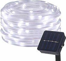 DULEE Guirlande Tube Lumineuse Solaire 10M 100 LED