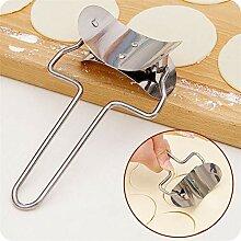 Dumplings ronds en acier inoxydable Couteau de