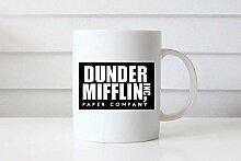 Dunde Mifflin Cup La Meilleure Tasse De Patron Du