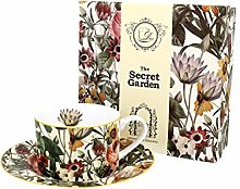 Duo Collection Secret Garden Tasse et soucoupes en