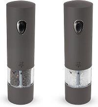 Duo de moulin à poivre et sel électrique basalte