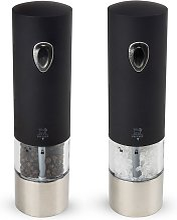 Duo de moulin à poivre et sel électrique noir