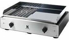 Duo électrique barbecue/plancha krampouz