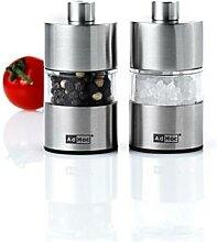 Duo mini moulins à sel et à poivre Adhoc Adhoc