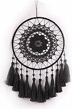 DUOER Plum Blossom Crochet Fleur Tassel Dream