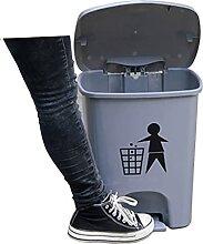 durable Poubelle de pédale peut, poubelle en