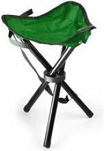 Duramaxx chaise de camping trépied pêche mobile