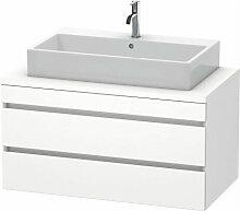 DuraStyle meuble-lavabo pour console, 2 tiroirs,