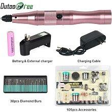 Dutoofree perceuse électrique sans fil, outils de