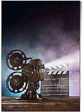 DV DESIGN 1 x affiche A1 – Vidéoprojecteur de