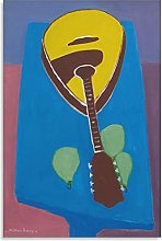 Dvbhd Posters Muraux Milton Avery Mandoline avec