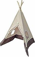 dvier Tent Tente, Polyester, Beige/Marron, 36x