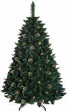 DWA Albero di Natale Grande Verde Foresta