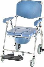DX Chaises de Garde Chaise Mobile d'aisance