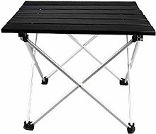 DX Table de camping pliable, table de camping en