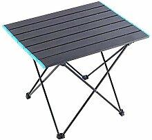 DX Table de camping pliante en alliage