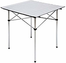 DX Table de camping pliante en aluminium - Mini