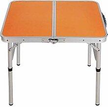 DX Table de camping pliante en aluminium, table de