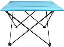 DX Table de camping pliante en aluminium - Table
