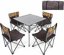 DX Table de pique-nique pliante portable Table de