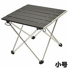 DX Table Pliable Alliage d'aluminium Portable
