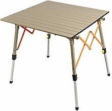 DX Table Pliable Alliage d'aluminium portatif