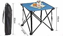 DX Table Pliable Set de Jardin Chaise Pliante