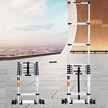 DXXWANG Échelle télescopique portable escaliers