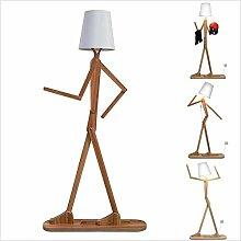 DXXWANG Lampadaire lecture lumières décoratives,