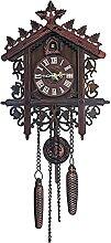 DYJXIGO Horloge murale à quartz avec pendule et